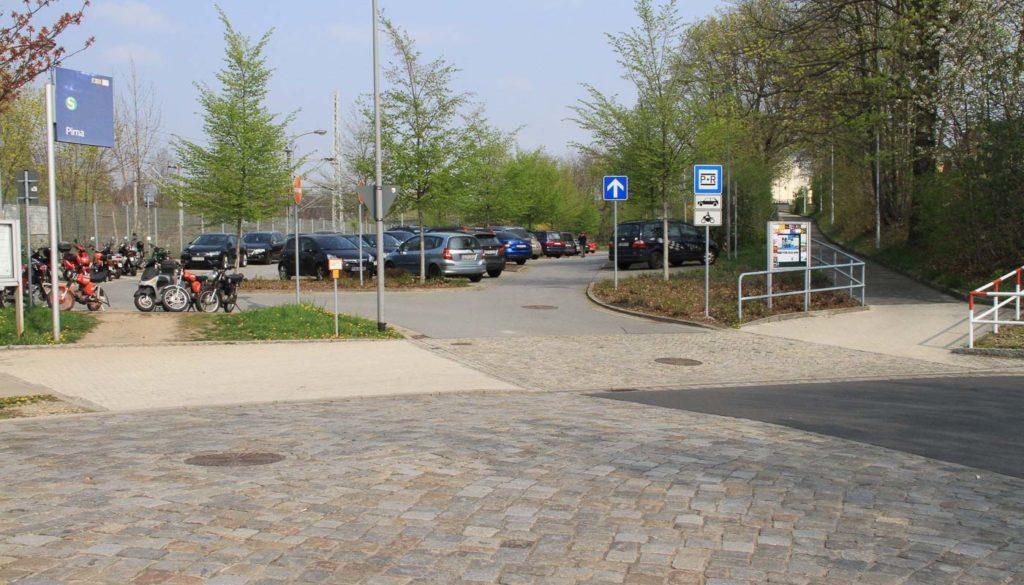 parkeplatz-Bahnhof