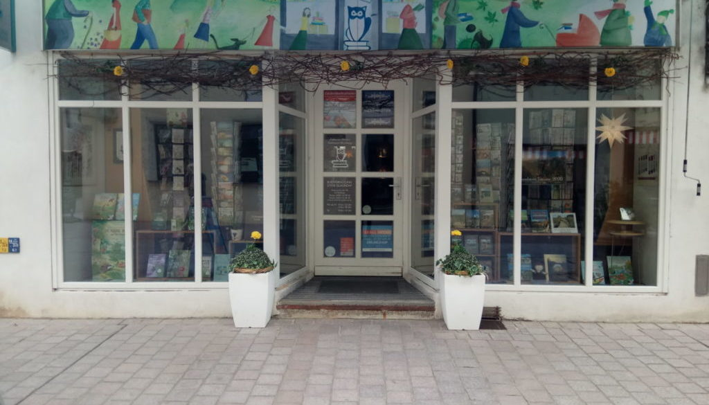 Buchhandlung Steve Gladrow