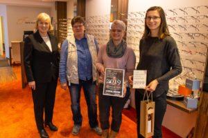 Preisverleihung Schaufenster-Wettbewerb 2019_Optikstudio Stein