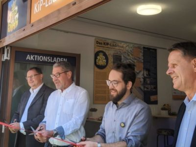 Eröffnung Kip-Lädchen, Foto: Norbert Kaiser